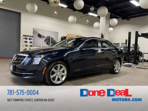 2016 Cadillac ATS for sale at DONE DEAL MOTORS in Canton MA