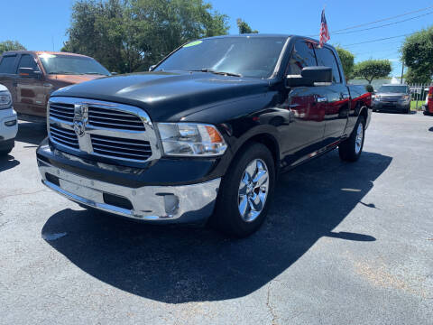 2017 RAM Ram Pickup 1500 for sale at Bargain Auto Sales in West Palm Beach FL
