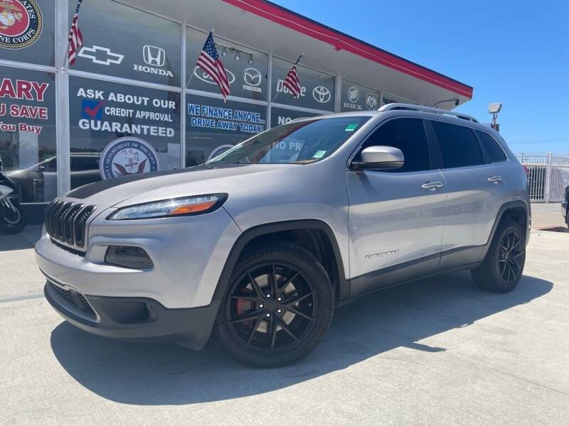 2016 Jeep Cherokee for sale at VR Automobiles in National City CA
