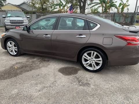 2013 Nissan Altima for sale at FAIR DEAL AUTO SALES INC in Houston TX