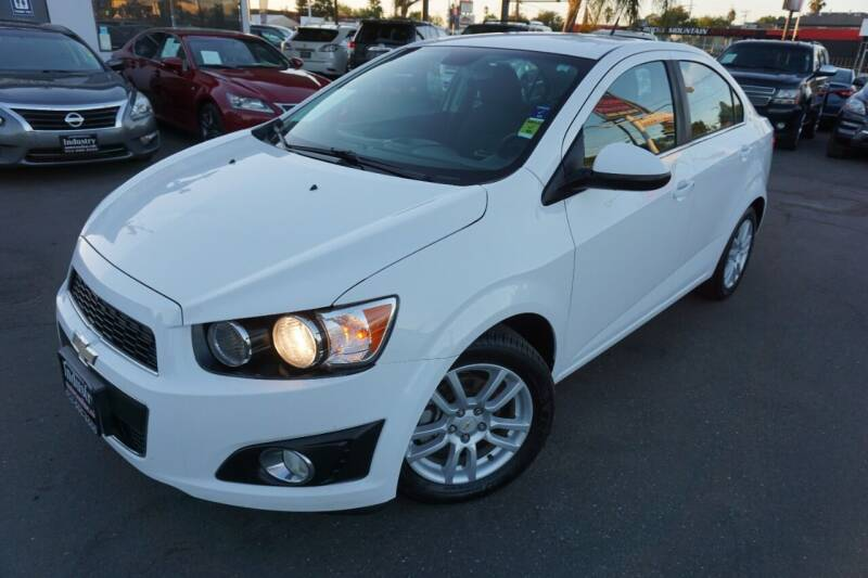 2012 Chevrolet Sonic for sale at Industry Motors in Sacramento CA
