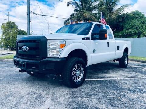 2011 Ford F-350 Super Duty for sale at Venmotors LLC in Hollywood FL
