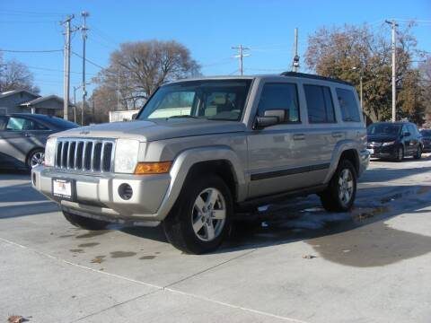 2007 Jeep Commander for sale at EURO MOTORS AUTO DEALER INC in Champaign IL