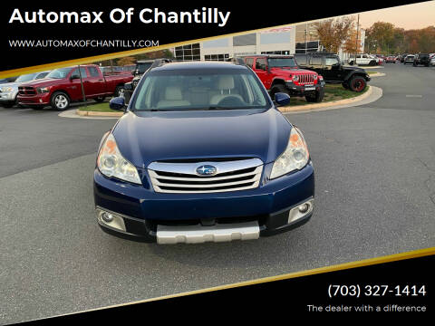 2010 Subaru Outback for sale at Automax of Chantilly in Chantilly VA