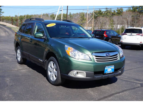 2012 Subaru Outback for sale at VILLAGE MOTORS in South Berwick ME