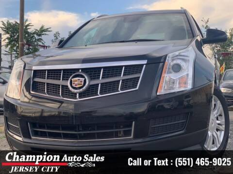 2012 Cadillac SRX for sale at CHAMPION AUTO SALES OF JERSEY CITY in Jersey City NJ