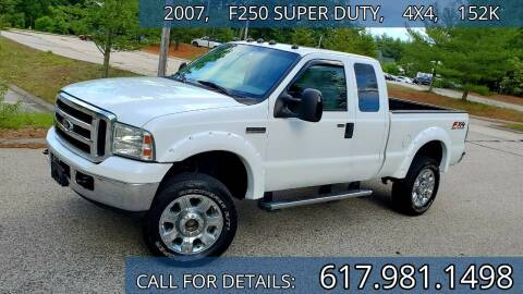 2007 Ford F-250 Super Duty for sale at Wheeler Dealer Inc. in Acton MA