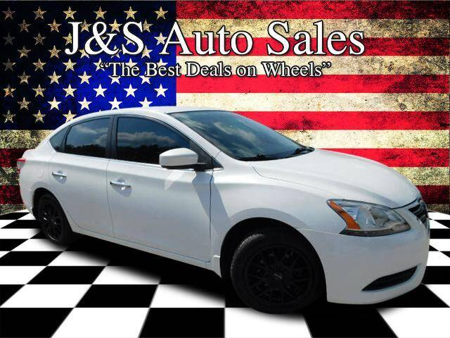 2014 Nissan Sentra for sale at J & S Auto Sales in Clarksville TN