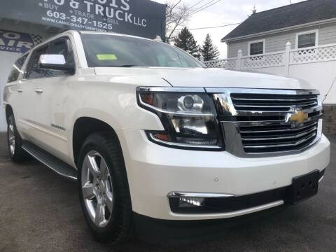 2015 Chevrolet Suburban for sale at Langlois Auto and Truck LLC in Kingston NH