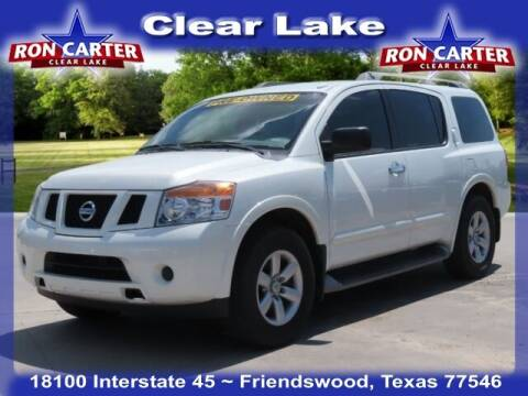 2014 Nissan Armada for sale at Ron Carter  Clear Lake Used Cars in Houston TX