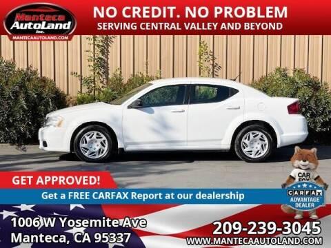 2014 Dodge Avenger for sale at Manteca Auto Land in Manteca CA
