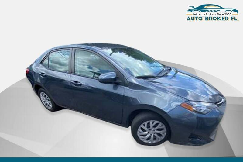 2017 Toyota Corolla for sale at INTERNATIONAL AUTO BROKERS INC in Hollywood FL