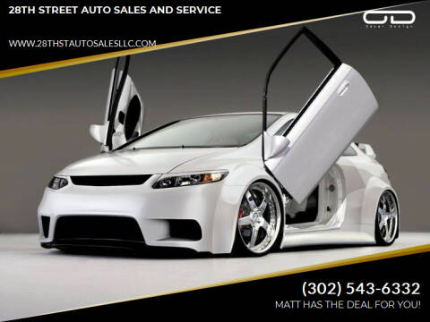 2007 Honda Civic for sale at 28TH STREET AUTO SALES AND SERVICE in Wilmington DE
