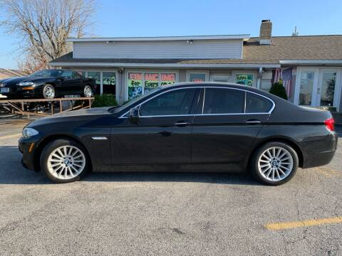 2013 BMW 5 Series for sale at Revolution Motors LLC in Wentzville MO