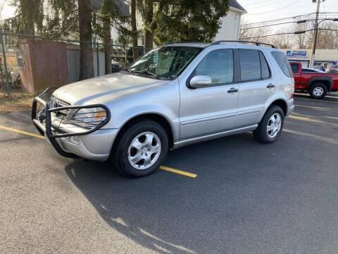 2003 Mercedes-Benz M-Class for sale at AMERI-CAR & TRUCK SALES INC in Haskell NJ