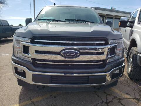 2019 Ford F-150 for sale at BERG AUTO MALL & TRUCKING INC in Beresford SD