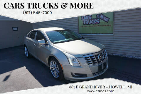 2014 Cadillac XTS for sale at Cars Trucks & More in Howell MI