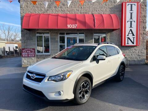 2015 Subaru XV Crosstrek for sale at Titan Auto Sales LLC in Albany NY