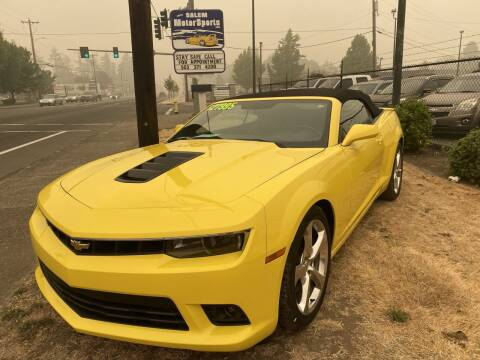 2015 Chevrolet Camaro for sale at Salem Motorsports in Salem OR