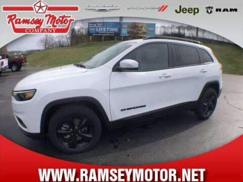 2021 Jeep Cherokee for sale at RAMSEY MOTOR CO in Harrison AR