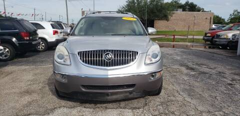 2012 Buick Enclave for sale at Anthony's Auto Sales of Texas, LLC in La Porte TX