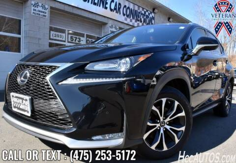 2017 Lexus NX 200t for sale at The Highline Car Connection in Waterbury CT