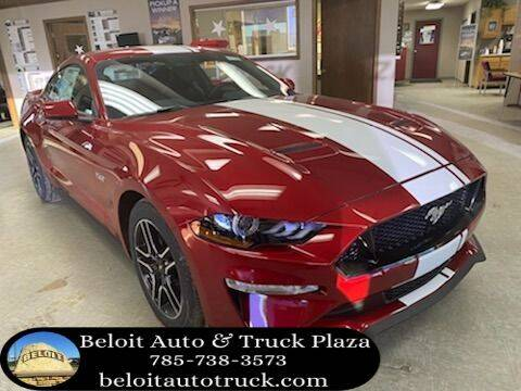 2021 Ford Mustang for sale at BELOIT AUTO & TRUCK PLAZA INC in Beloit KS