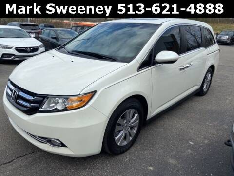 2017 Honda Odyssey for sale at Mark Sweeney Buick GMC in Cincinnati OH