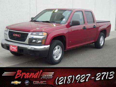 2006 GMC Canyon for sale at Brandl GM in Aitkin MN