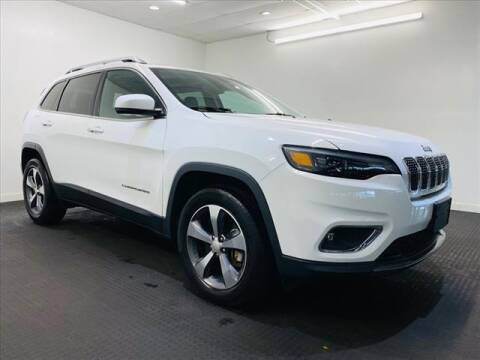 2019 Jeep Cherokee for sale at Champagne Motor Car Company in Willimantic CT