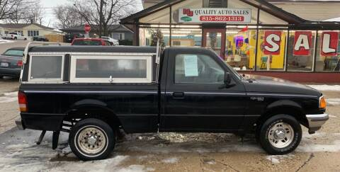 1997 Ford Ranger for sale at NJ Quality Auto Sales LLC in Richmond IL