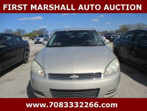 2010 Chevrolet Impala for sale at First Marshall Auto Auction in Harvey IL