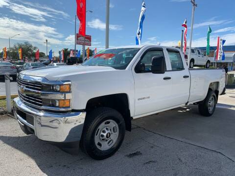 2016 Chevrolet Silverado 2500HD for sale at Navarro Auto Motors in Hialeah FL