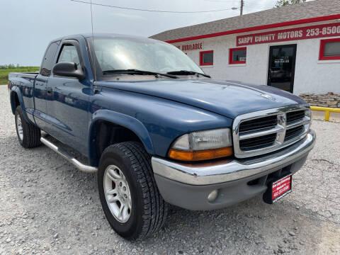 2004 Dodge Dakota for sale at Sarpy County Motors in Springfield NE
