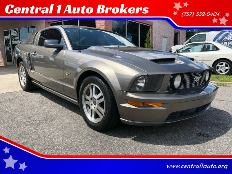 2005 Ford Mustang for sale at Central 1 Auto Brokers in Virginia Beach VA