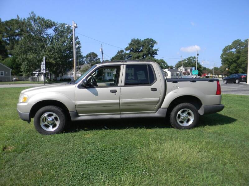 2005 Ford Explorer Sport Trac for sale at SeaCrest Sales, LLC in Elizabeth City NC
