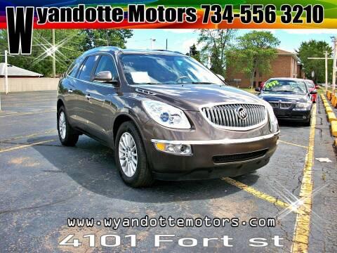 2012 Buick Enclave for sale at Wyandotte Motors in Wyandotte MI