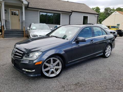 2014 Mercedes-Benz C-Class for sale at M & A Motors LLC in Marietta GA