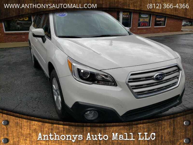 2016 Subaru Outback for sale at Anthonys Auto Mall LLC in New Salisbury IN