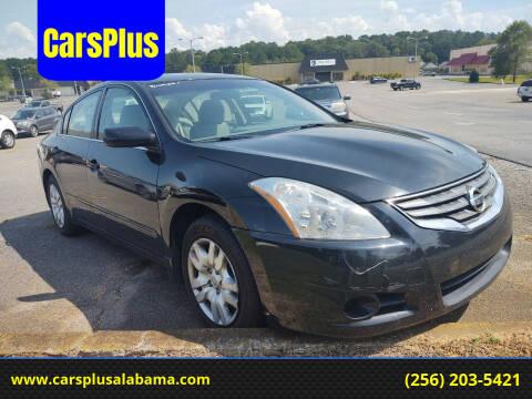 2012 Nissan Altima for sale at CarsPlus in Scottsboro AL