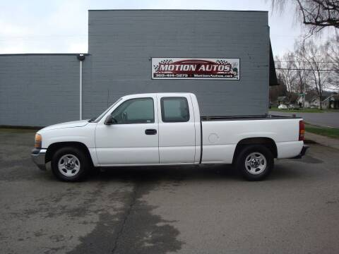 2001 GMC Sierra 1500 for sale at Motion Autos in Longview WA