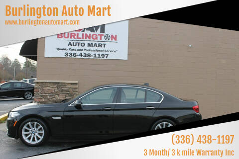 2014 BMW 5 Series for sale at Burlington Auto Mart in Burlington NC