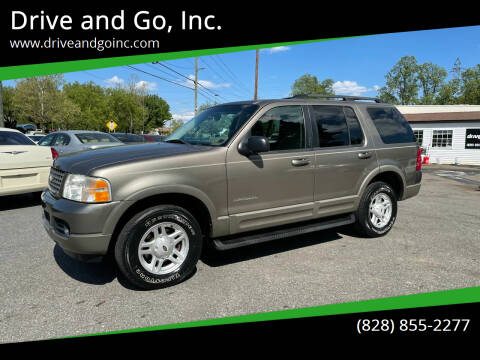 2002 Ford Explorer for sale at Drive and Go, Inc. in Hickory NC