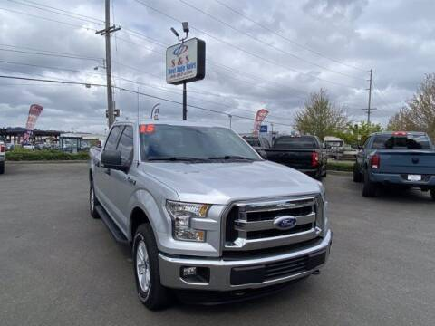 2015 Ford F-150 for sale at S&S Best Auto Sales LLC in Auburn WA