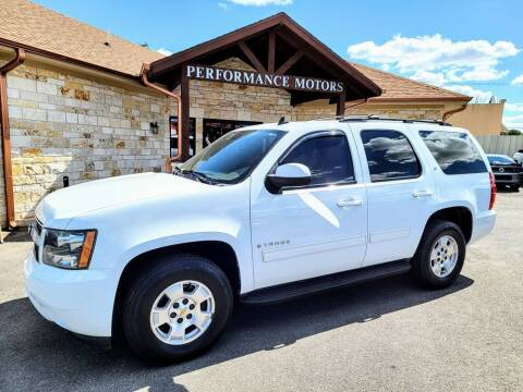 2009 Chevrolet Tahoe for sale at Performance Motors Killeen Second Chance in Killeen TX