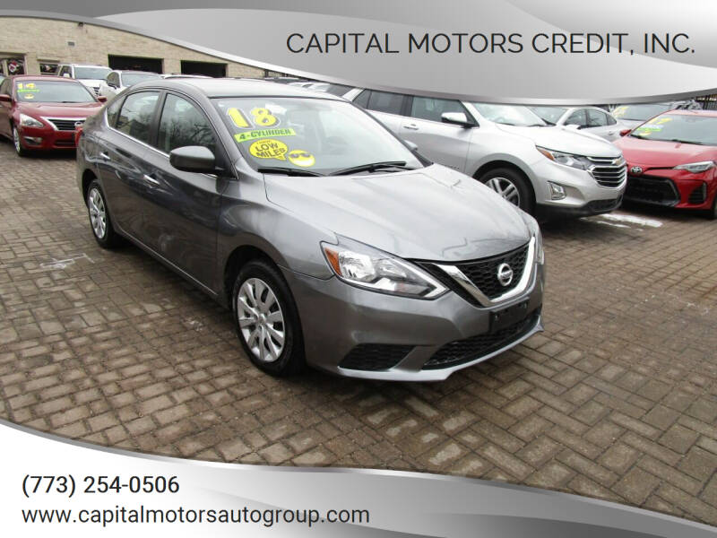 2018 Nissan Sentra for sale at Capital Motors Credit, Inc. in Chicago IL