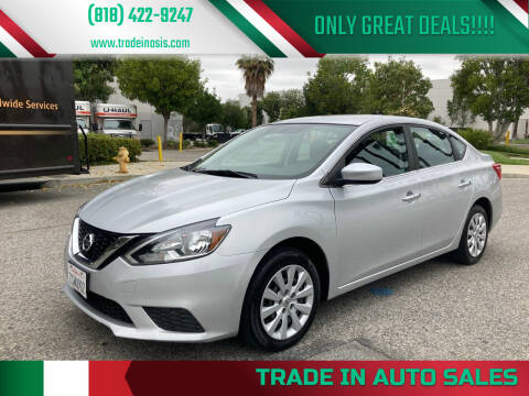 2016 Nissan Sentra for sale at Trade In Auto Sales in Van Nuys CA