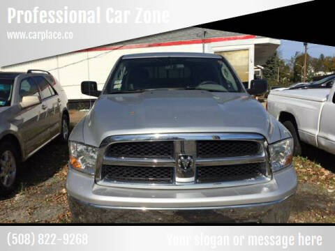 2009 Dodge Ram Pickup 1500 for sale at Professional Car Zone in Taunton MA