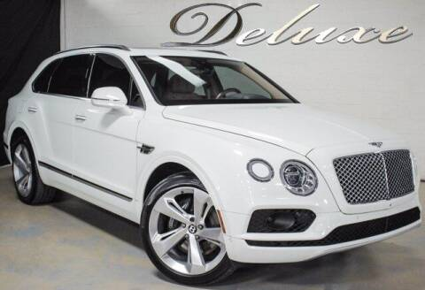 2018 Bentley Bentayga for sale at DeluxeNJ.com in Linden NJ