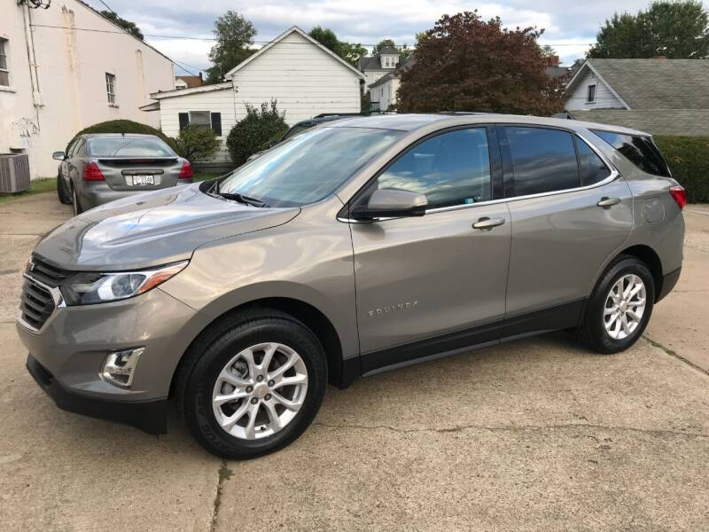 2018 Chevrolet Equinox for sale at DALE'S PREOWNED AUTO SALES INC in Moundsville WV